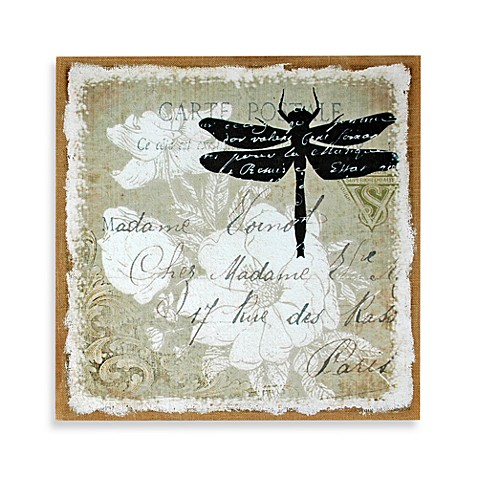 Dragonfly Postcard Wall Art