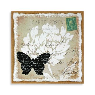 Butterfly Postcard Wall Art