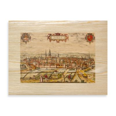 Ancient Cities Walled Town Art