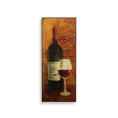 Vin Rouge Red Wine Wall Art