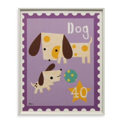 Dog Stamp Wall Art