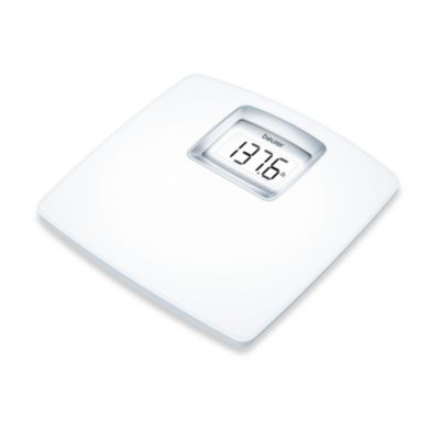 Beurer White LCD Digital Scale