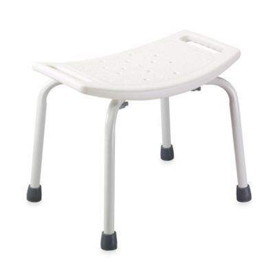 Drive Medical Bathroom Safety Shower Tub Chair in White