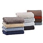Turkish Ribbed Bath Towels, 100% Cotton