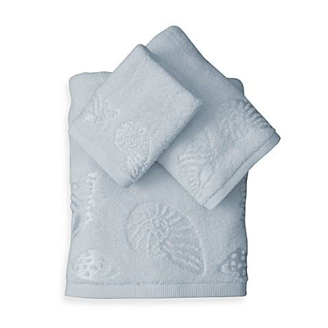 Seaside Blue Hand Towel