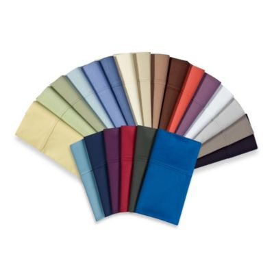 Wamsutta® 400 Thread Count Twin Sheet Set in Royal Blue