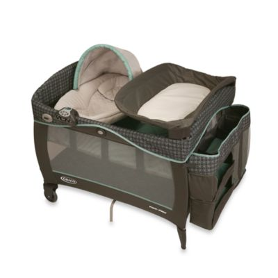 Playards > Graco® Pack 'n Play® Playard with Newborn Napper® Elite in Cascade