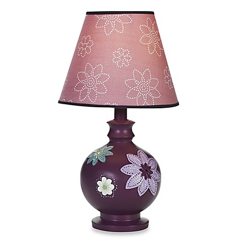 NoJo® Plum Dandy Lamp and Shade
