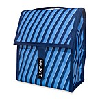 PackIt®  8-Inch Freezable Indigo Stripe Lunch Bag