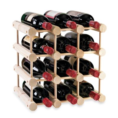 Wine Enthusiast Modular 12-Bottle Wine Rack