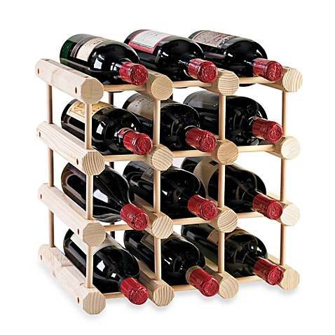 Wine Enthusiast Modular 12 Bottle Wine Rack Bed Bath