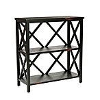 Safavieh Lucas Low Two-Shelf Etegere