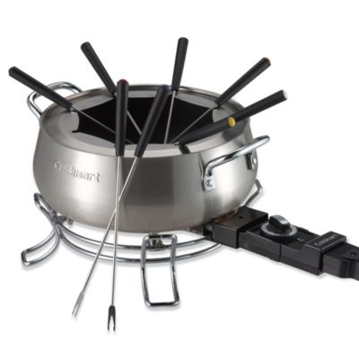 Steel Stainless Fondue Sets