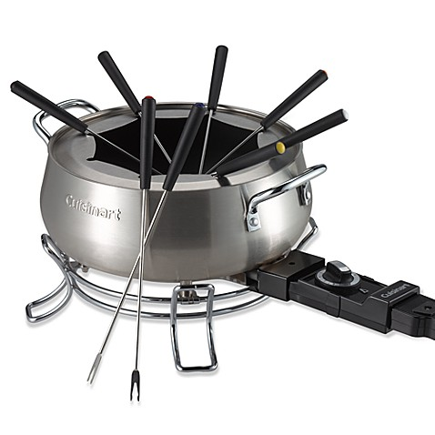 cuisinart 3 qt electric fondue set. Black Bedroom Furniture Sets. Home Design Ideas