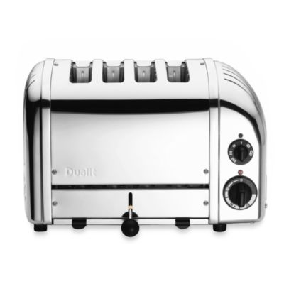Dualit® 4-Slice Chrome Toaster