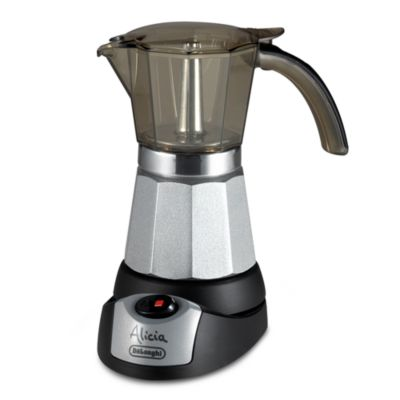 De'Longhi Alicia EMK6 Electric Moka Espresso Maker