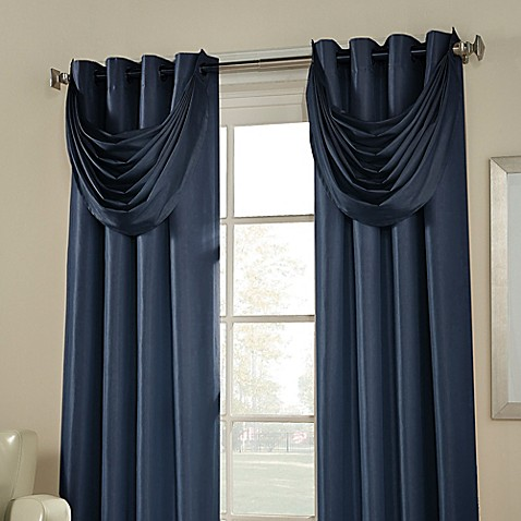 Buy Argentina Grommet Waterfall Valance From Bed Bath Amp Beyond