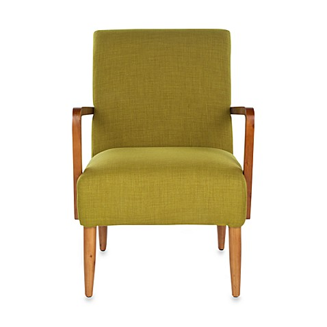 Safavieh Wiley Arm Chair in Green