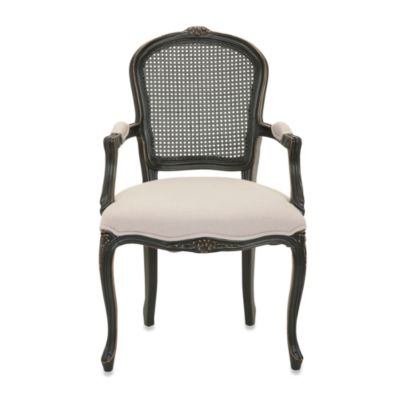 Safavieh McKenna Arm Chair in Black