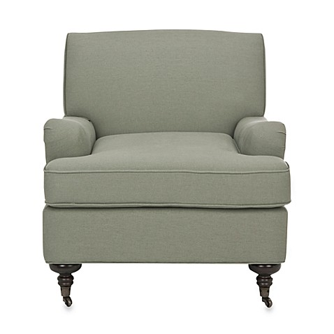 Safavieh Chloe Club Chair in Grey