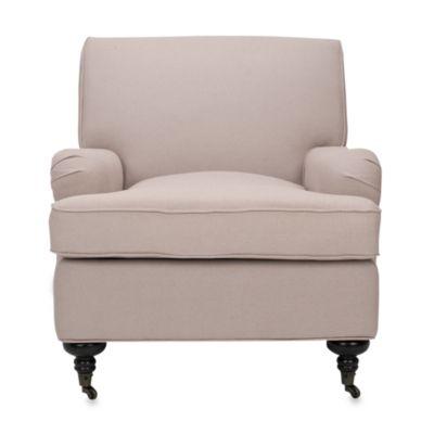 Safavieh Chloe Club Chair in Beige
