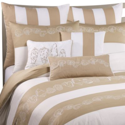 Buy Coastal Life Lux Seashell Duvet Cover from Bed Bath & Beyond