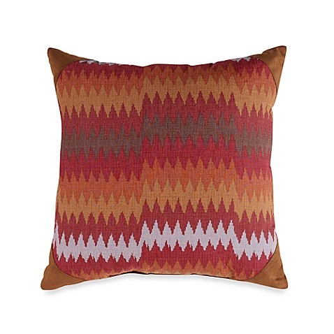 Mesquite Chevron Square Toss Pillow