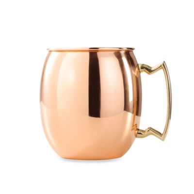 Old Dutch 16-Ounce Moscow Mule Mug in Solid Copper
