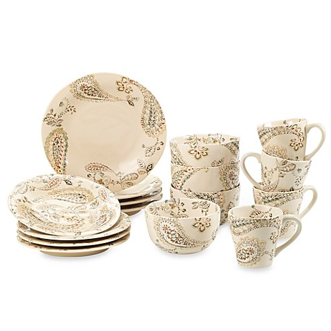 Indira 16-Piece Dinnerware Set