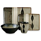 Sango Prelude Black 16-Piece Dinnerware Set
