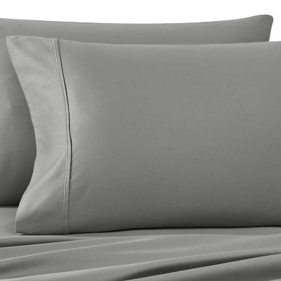 Wamsutta® 400 Thread Count Standard Pillowcases (Set of 2) in Grey
