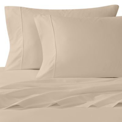 Wamsutta® 400 Thread Count Full XL Sheet Set in Taupe