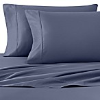 Wamsutta® 400-Thread-Count Sateen Queen Sheet Set in Blue Jean