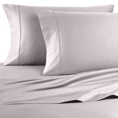 Wamsutta® 400 Thread Count Queen Sheet Set in Oyster