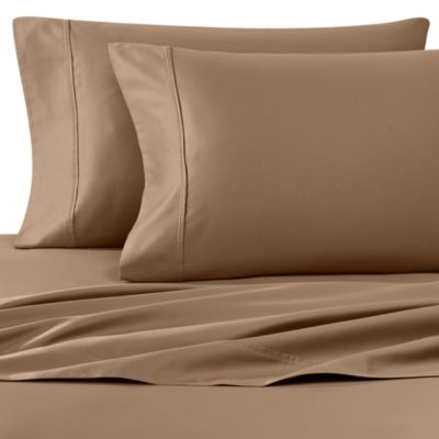 Wamsutta® 400 Thread Count Queen Sheet Set in Canvas