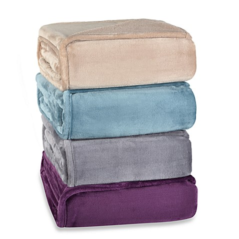 Berkshire Blanket 174 Plush Pique Throws Bed Bath Amp Beyond