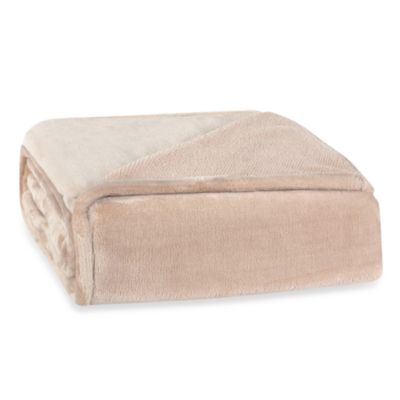 Berkshire Blanket® Plush Pique Throw in Shitake