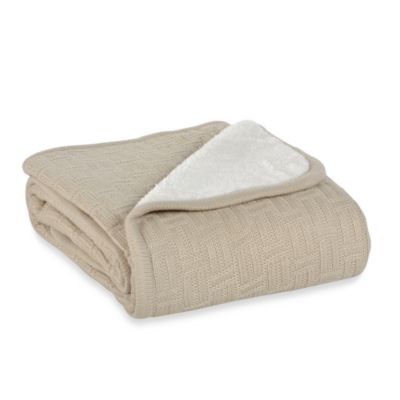 Berkshire Blanket® Timeless Comfort™ Throw Blanket in Cream