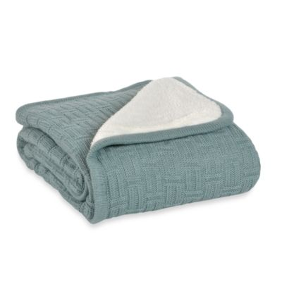 Berkshire Blanket® Timeless Comfort™ Throw Blanket in Blue