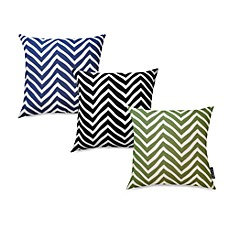 Chevron Recycled Cotton 20-Inch Toss Pillow