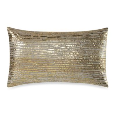 Oxidized Leaf Oblong Toss Pillow