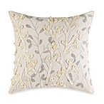 Oxidized Leaf Square Toss Pillow