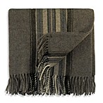 Bocasa Plaid Throw in Brown
