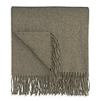 Bocasa Cashmere Throw in Brown