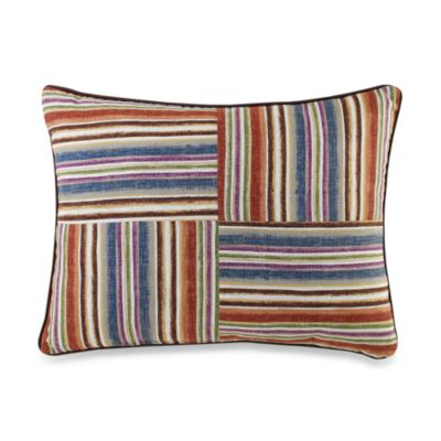 Montecito Striped Oblong Toss Pillow