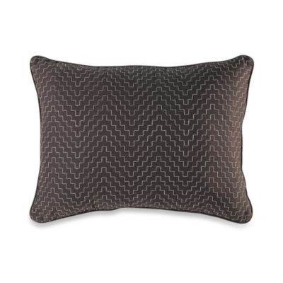Montecito Embroidered Oblong Toss Pillow