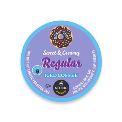 K-Cup 16-Count The Original Donut Shop Sweet & Creamy Regular Iced Coffee for Keurig Brewers