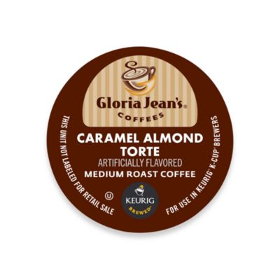 K-Cup® 18-Count Gloria Jean's Caramel Almond Torte Coffee for Keurig® Brewers