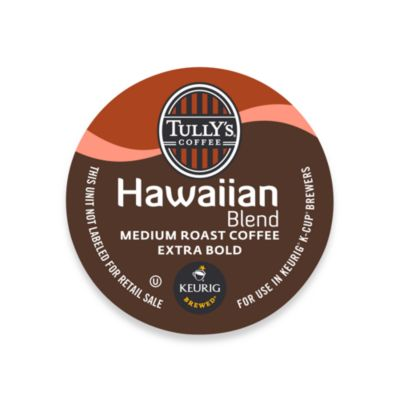 K-Cup® 18-Count Tully's® Hawaiian Blend Medium Roast Coffee for Keurig® Brewers