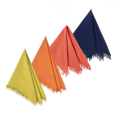 Fiesta® Fringed Napkin 100% Cotton